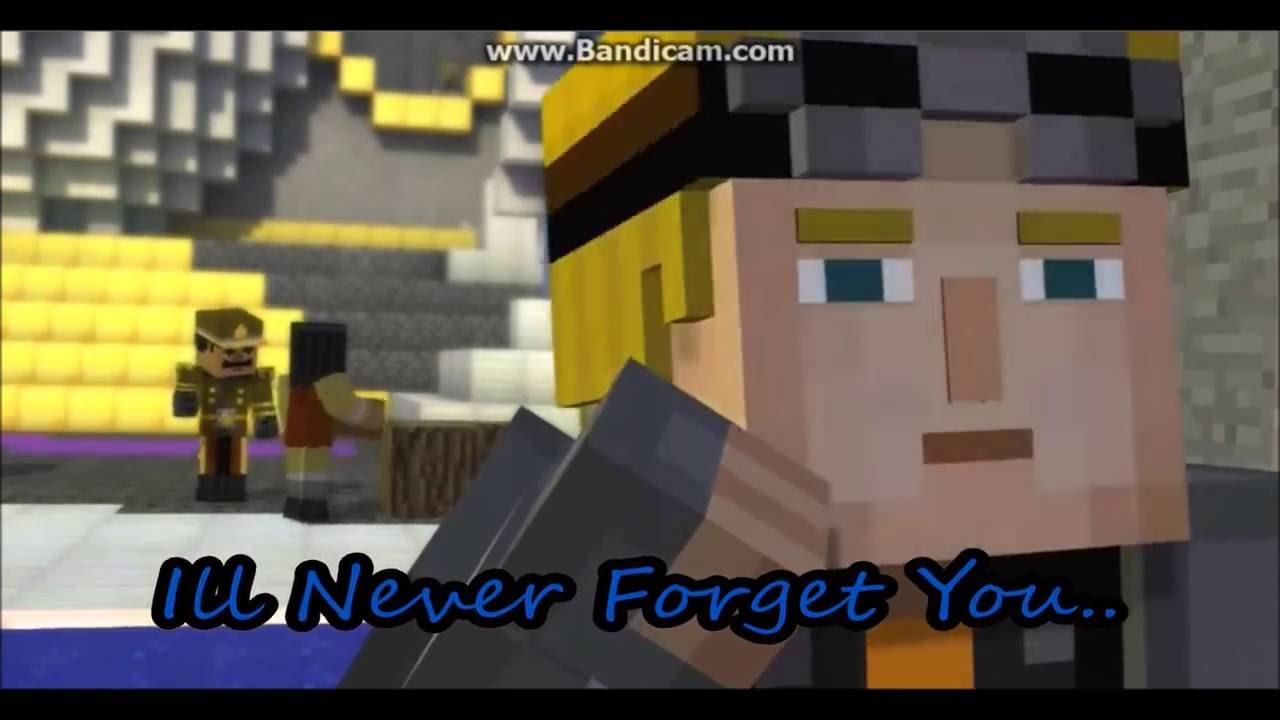 Jesse X Lukas Never Forget You Minecraft Story Mode Youtube
