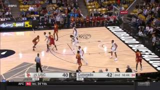 Men's Basketball: USC 71, Colorado 68 - Highlights 1/15/17