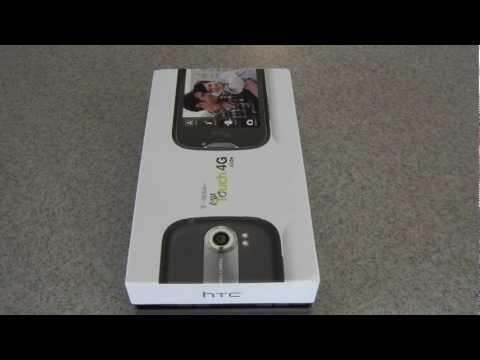T-Mobile MyTouch HTC 4G Slide Unboxing
