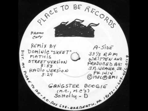 Schoolly D - Gangster Boogie 1984