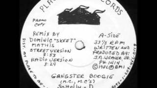 Schoolly D - Gangster Boogie 1984