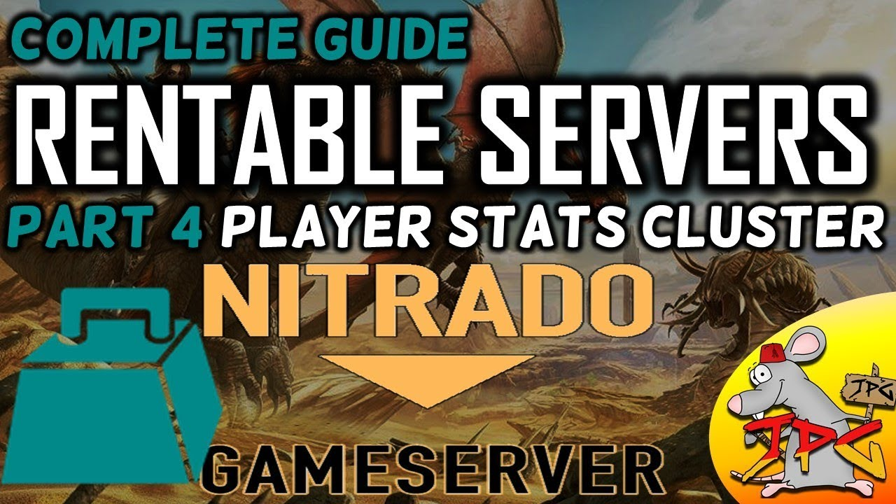 Ark Complete Guide To Hosting Nitrado Servers Part 4 Player Stats Weight Settings Cer