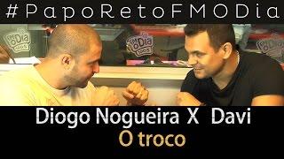 Papo Reto FM O Dia - Diogo Nogueira X Davi