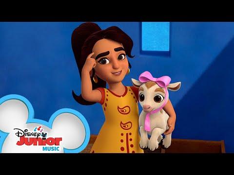 If I Were A Goat   Music Video   Mira, Royal Detective   Disney Junior