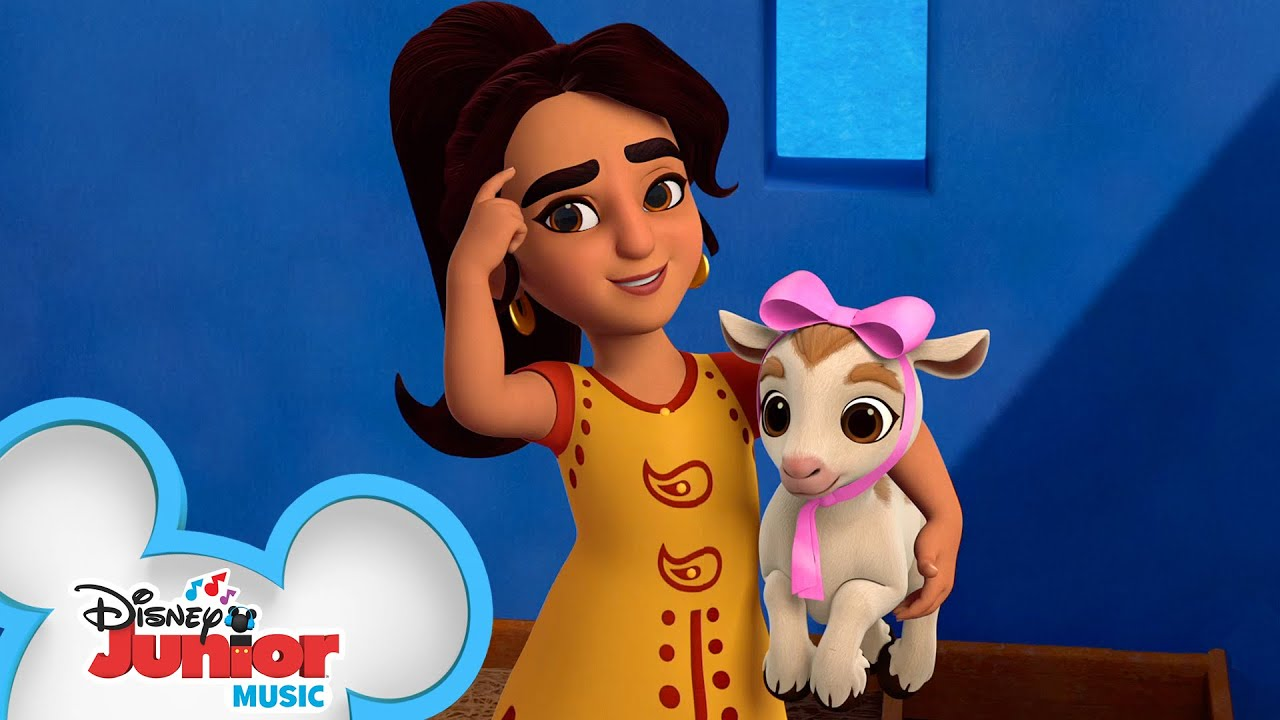 If I Were A Goat | Music Video | Mira, Royal Detective | Disney Junior