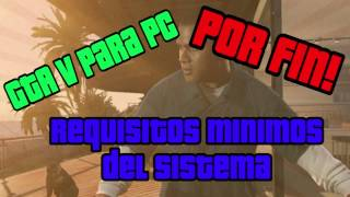 Requisitos mínimos - GTA V para PC