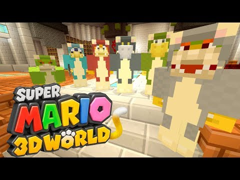 Minecraft Switch - Super Mario Series - Bowser's Cat Army! [196]