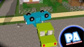 stupid car a minecraft animation