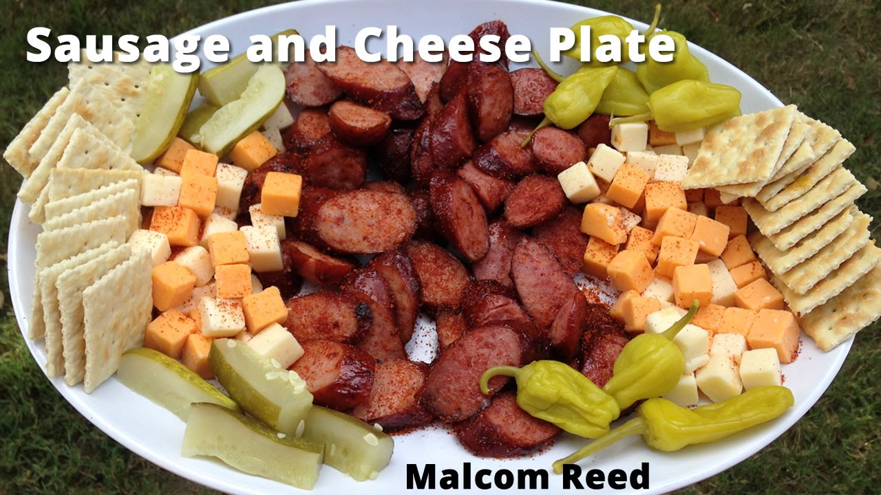 Sausage u0026 Cheese Plate | Sausage and Cheese Appetizer with Malcom Reed HowToBBQRight - YouTube & Sausage u0026 Cheese Plate | Sausage and Cheese Appetizer with Malcom ...