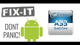 Allwinner A33 Tablet Unbrick and Hard Reset easy with PhoenixCard