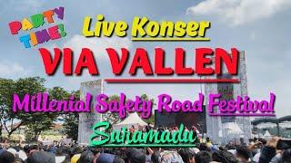 VIA VALLEN   LIVE KONSER SURAMADU   MILLENIAL   ROAD SAFETY FESTIVAL