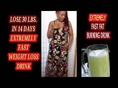 lose-30-lbs.-in-14-days-||-extremely-fast-fat-burning-drink