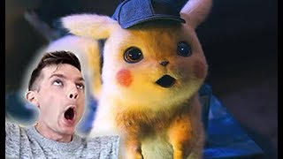 POKÉMON Detective Pikachu Official Trailer (Reaction)