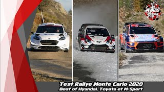 Test Rallye Monte Carlo 2020 - Best of [Hyundai, Toyota, M-Sport] - Aa26 Racing