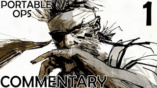 Metal Gear Solid Portable Ops HD Walkthrough Part 1 - Big Boss' Torture PPSSPP Emulation