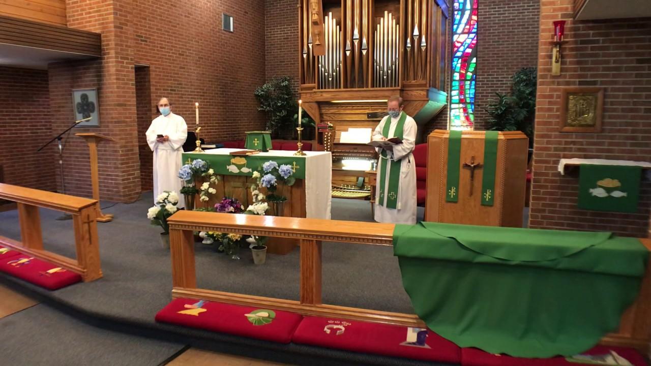 6 Pentecost - Rite II Holy Eucharist - 7/12/20