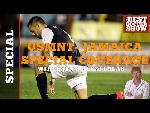 United States - Jamaica Coverage With ESPN's Alexi Lalas