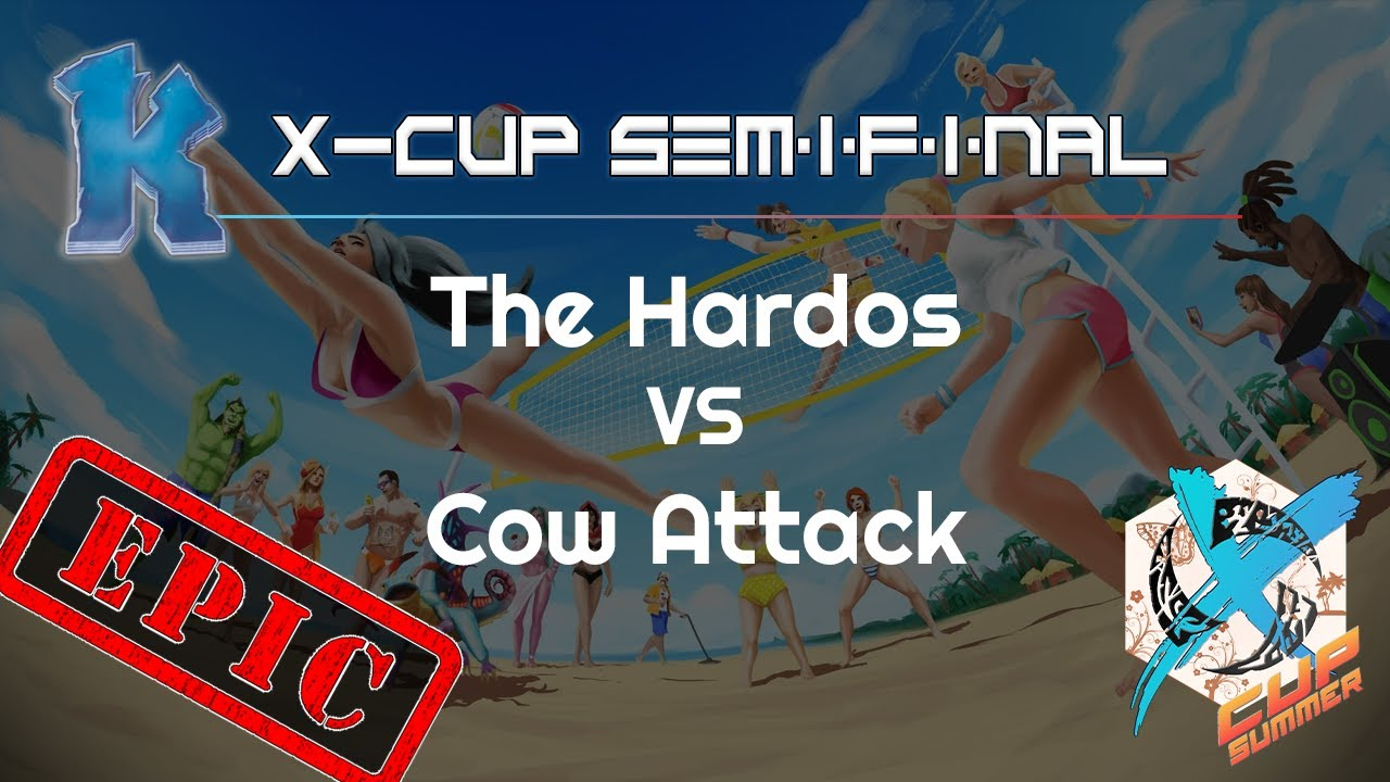 Hardos vs. Cow Attack - X Cup Summer Q2 - Heroes of the Storm