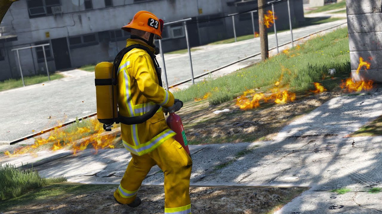 Firefighters Mod   Day 1   Garden Fire   YouTube