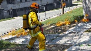 Firefighters Mod - Day 1 - Garden Fire