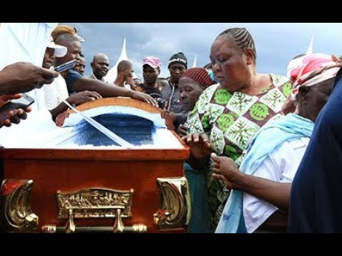 Sharon Otieno's body arrives at her rural home ahead of burial