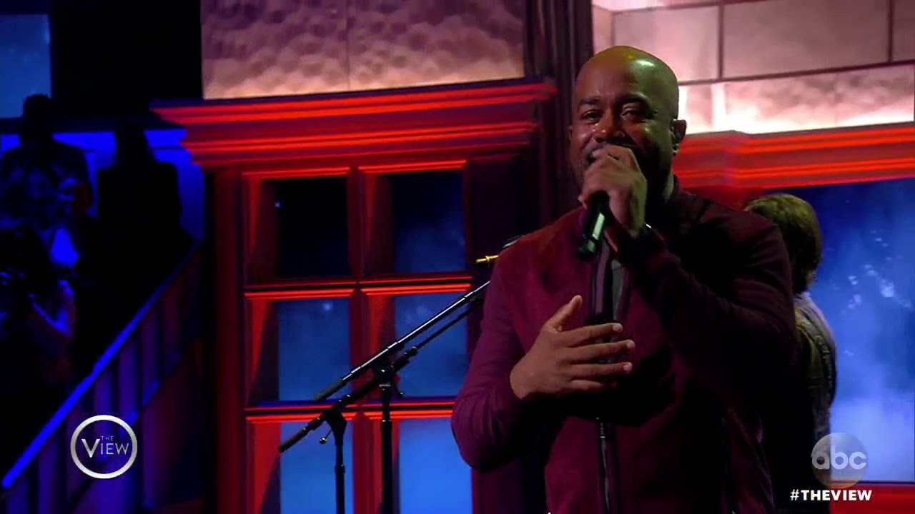 Darius Rucker Performs 'For The First Time' | The View