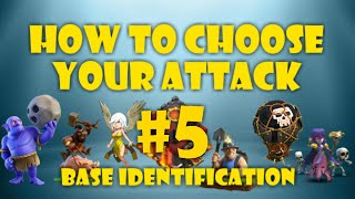BASE IDENTIFICATION 5! HOW TO CHOOSE THE RIGHT TH10 WAR ATTACK! CLASH OF CLANS