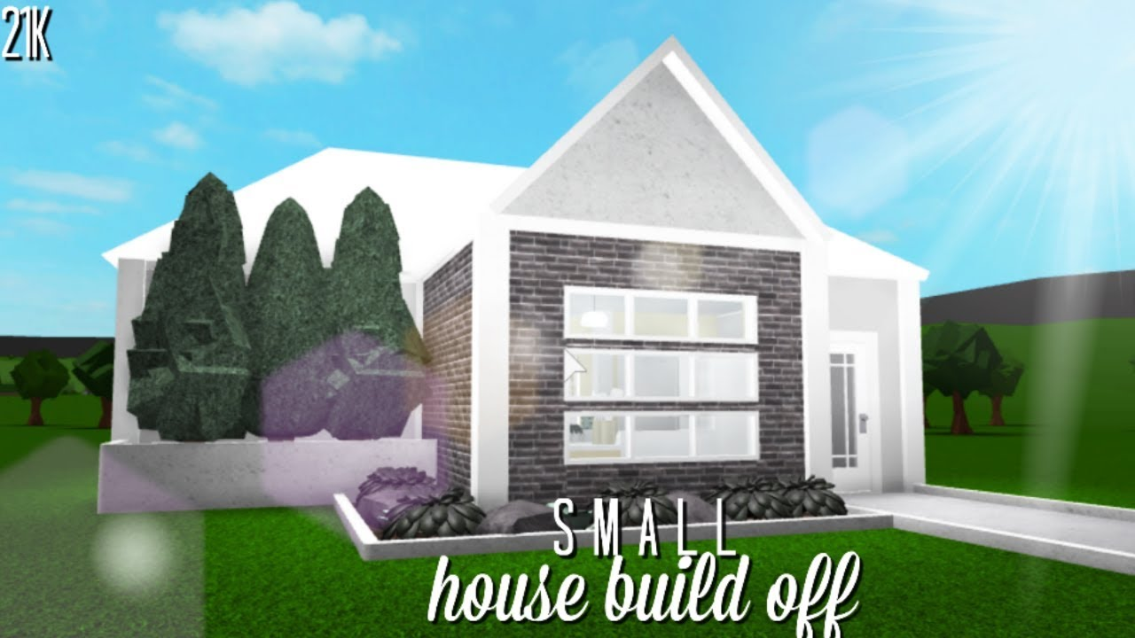 Roblox Bloxburg Small House Build Off W Iichristyy