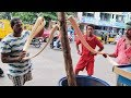 Gaggery CANDY Making Team Skills | How It's Made Traditional Sweet Jaggery Candy |Jeedi | 4K Video