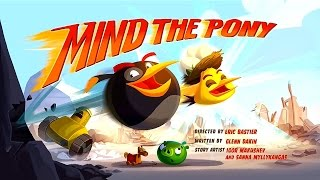 Angry Birds Toons Season 3 | Mind The Pony | S3 E13 1080p Cartoons 2017