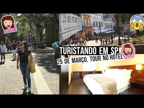 25 DE MARÇO, TURISTANDO EM SÃO PAULO, MERCADÃO, TOUR NO HOTEL ♥ - Bruna Paula