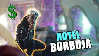 HE CREADO UN HOTEL BURBUJA DE LUJO!!💲 24 HORAS EN LA BURBUJA GIGANTE GAMER?? [Logan G]