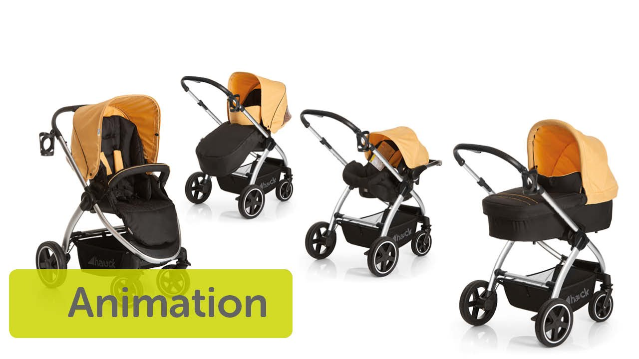 Hauck Shopper Slx Travel System Youtube Hauck Priya Stroller System Capabilities North America Us Version