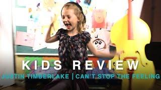 Kids React to Justin Timberlake's 'Can't Stop The Feeling' Lyrics