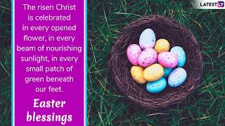 Happy Easter Sunday 2019 Wishes: Easter Images, Facebook Greetings to Share This Festive Season