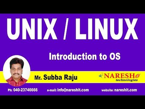 Unix/Linux Tutorial Videos | Mr. Subba Raju
