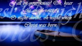 O Holy Night With Lyrics.wmv