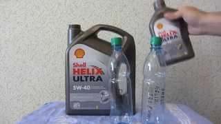 видео Моторное масло Shell Helix Ultra 5w40