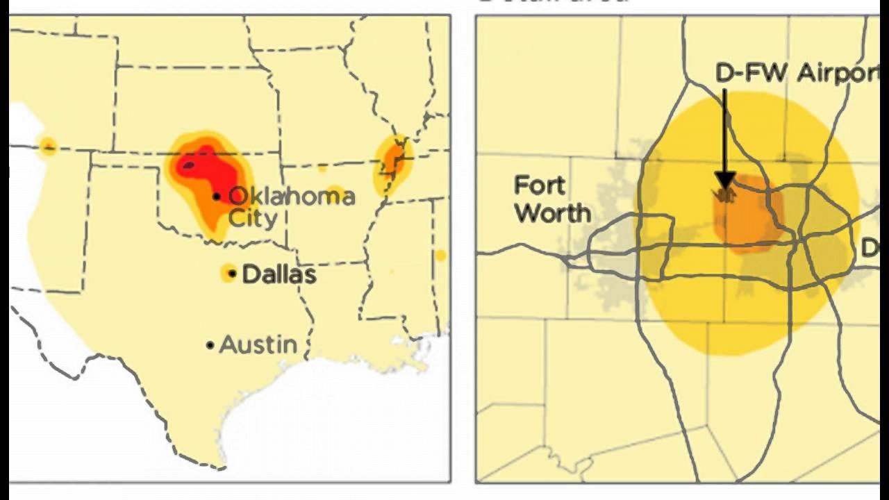 National hazard map shows dallas earthquake risk has grown tenfold national hazard map shows dallas earthquake risk has grown tenfold gumiabroncs Gallery
