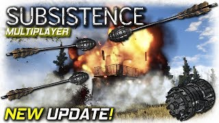 New Hunter Take down Update | Subsistence Multiplayer Gameplay | EP12