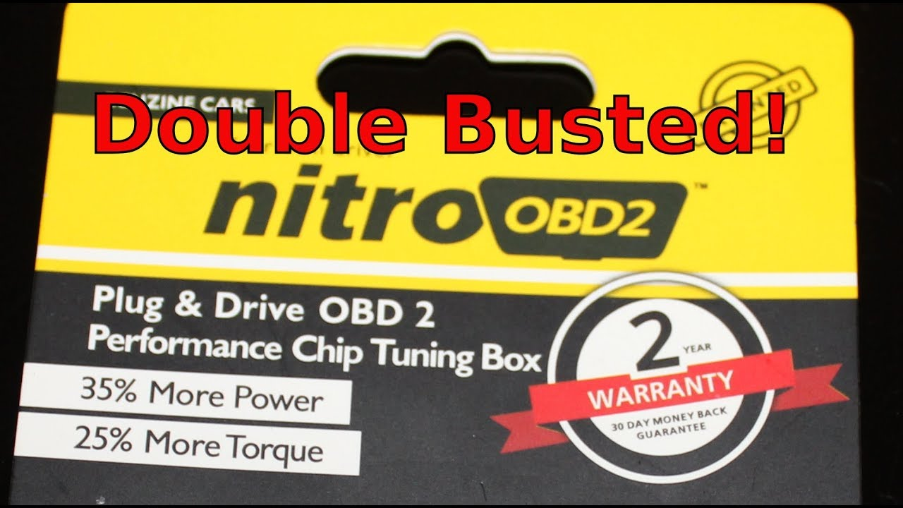 Nitro OBD2 Busted  ECO OBD2 Double Busted