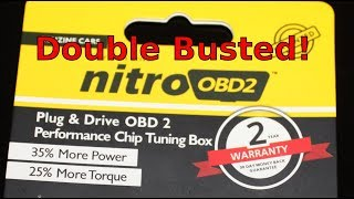 Nitro OBD2 Busted. ECO OBD2 Double Busted