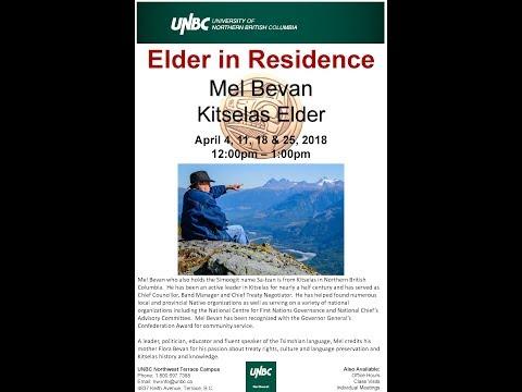Elder in Residence - Mel Bevan - Language (April 11, 2018)