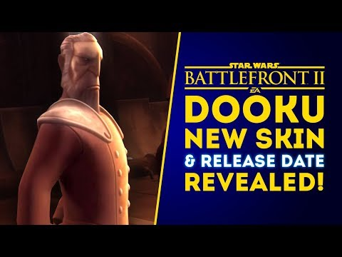 BIG NEWS! Count Dooku NEW SKIN & RELEASE DATE REVEALED! - Star Wars Battlefront 2 thumbnail