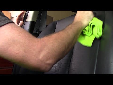 Removing Paint-Makeup-Nail Polish From Car Leather Quickly!