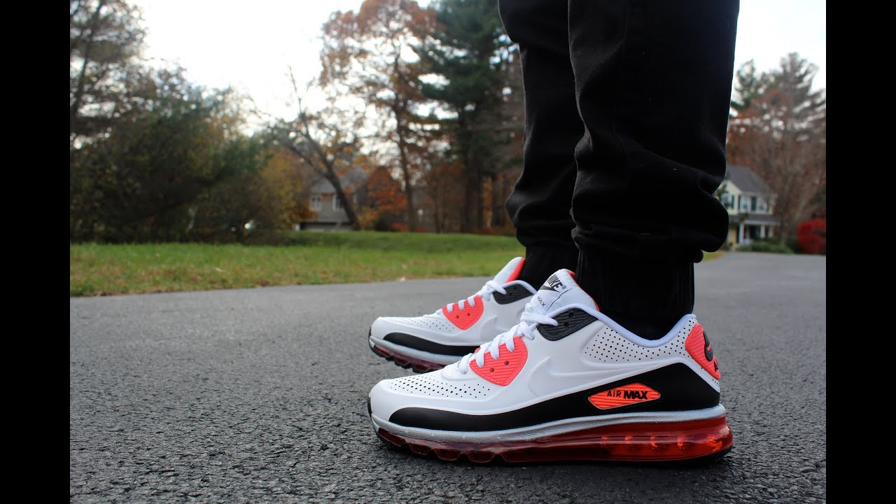 nike air max 2015 dos on feet