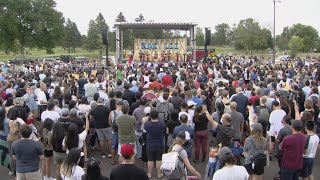 St. Paul holds homecoming ceremony for Suni Lee