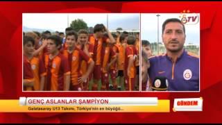 GSTV | Galatasaray U13 Takımı Türkiye Şampiyonu