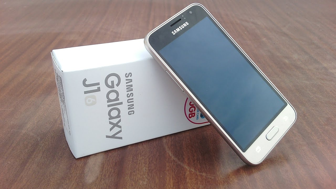 Samsung Galaxy J1 2016 Unboxing - YouTube