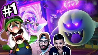 Vacaciones de Miedo | Luigi's Mansion 3 Capitulo 1 | Juegos Karim Juega